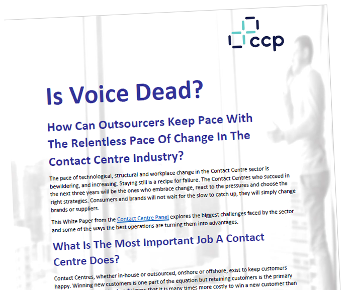 CCP White Paper - Is voice dead?