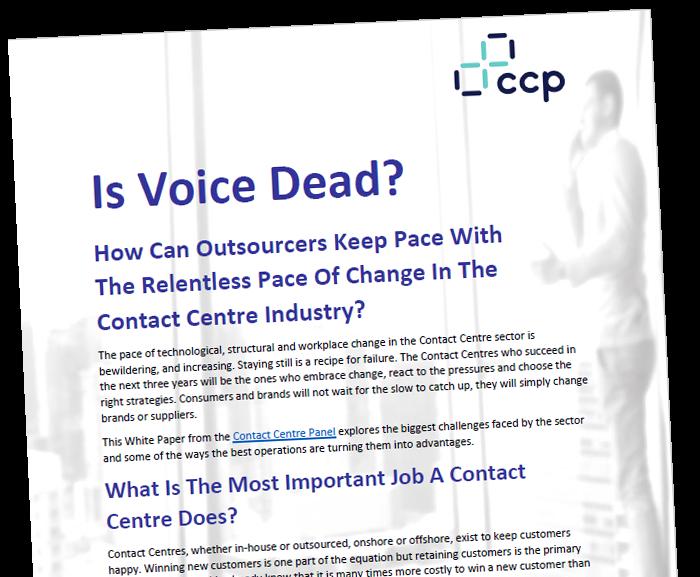 CCP White Paper - Is voice dead?