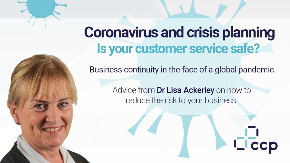 Coronavirus - Dr Lisa Ackerley