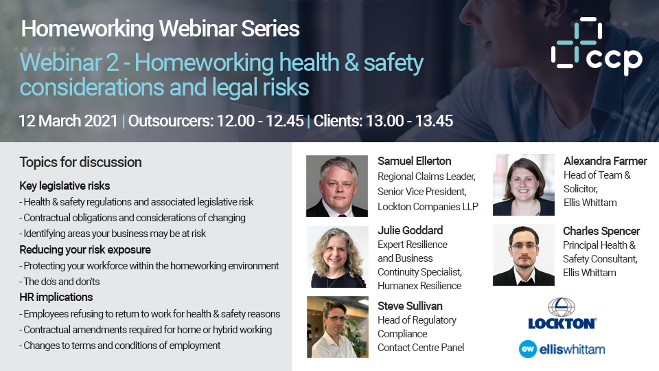 Contact Centre Panel Homeworking Client Webinar 2