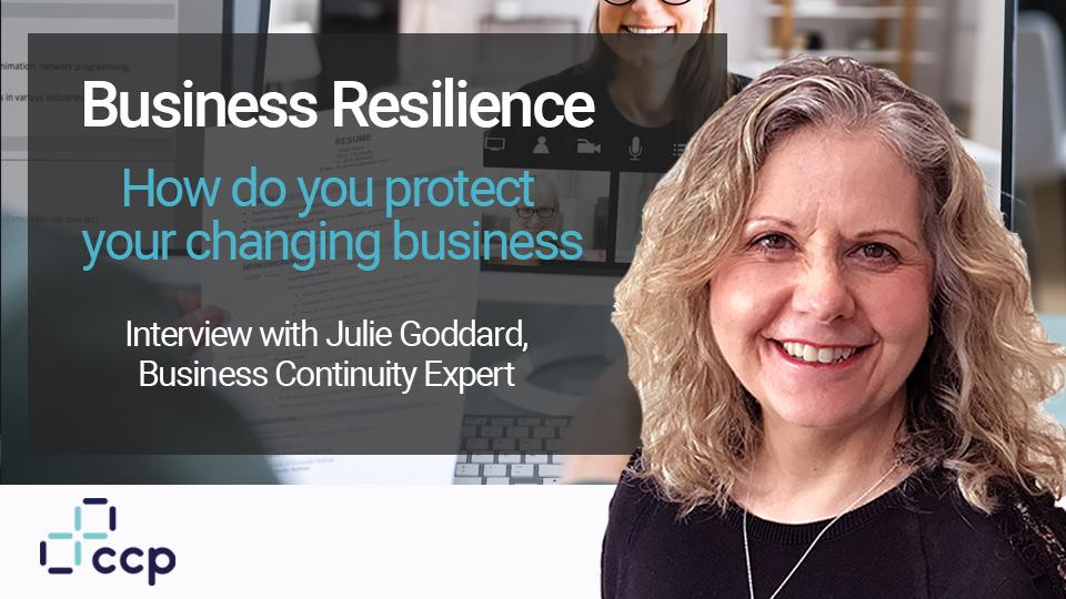Business Continuity - Julie Goddard